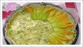 Alimentazione Sana & Cucina Naturale: Sfogliata di zucchine di di fiori di zucca