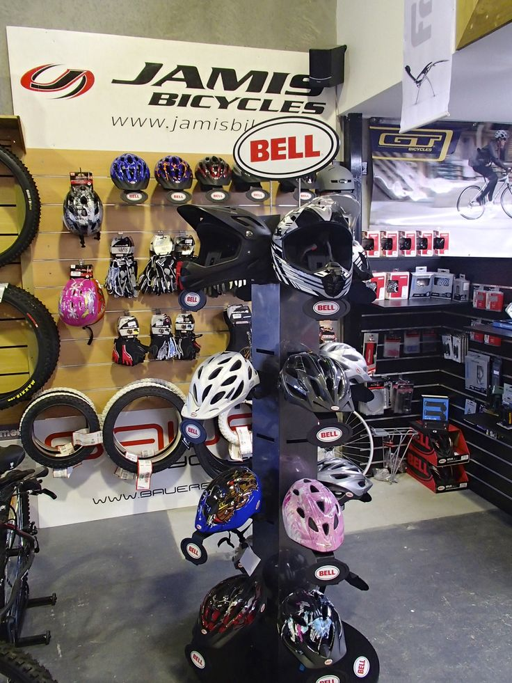 With a range of Bell Helmets, we can get you helmet to fit your needs on your bike
