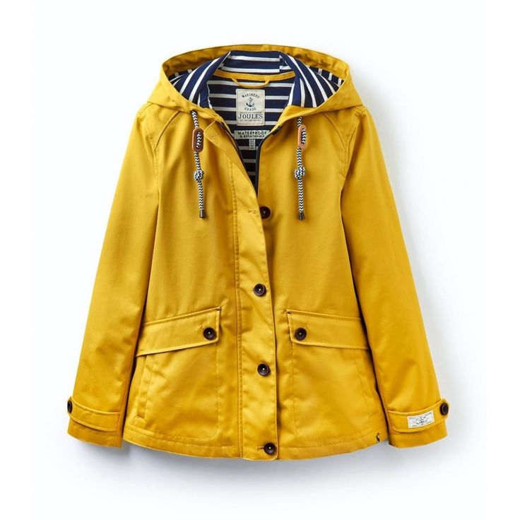 Joules Coast Waterproof Hooded Ladies Jacket (W) - Jackets & Gilets from Country House Outdoor UK