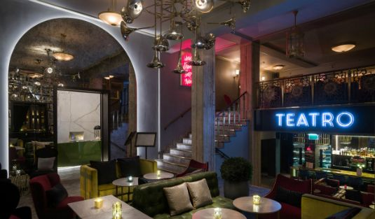 Mid-Century Lighting Designs Shine in Oslo Modern Restaurant