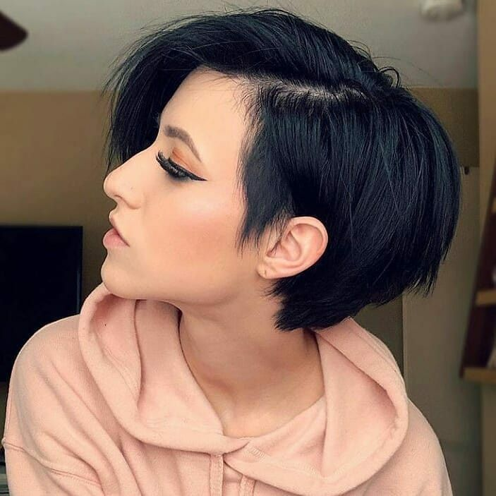 65 Pixie Haircuts You Will See Trending In 2019 Short Textured Hair Short Bob Hairstyles Hair Styles