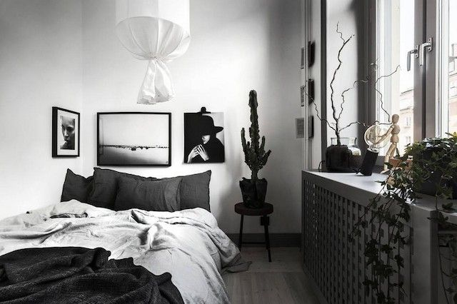 my scandinavian home: Could you go grey like this fab (small) Swedish apartment?
