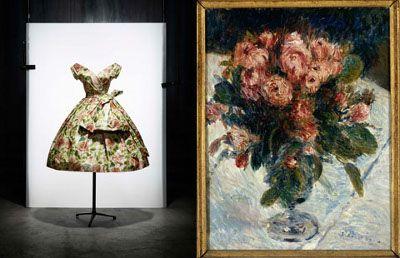 the buzz blog   book report: dior impressions (Les Roses Mousseuses by Renoir)
