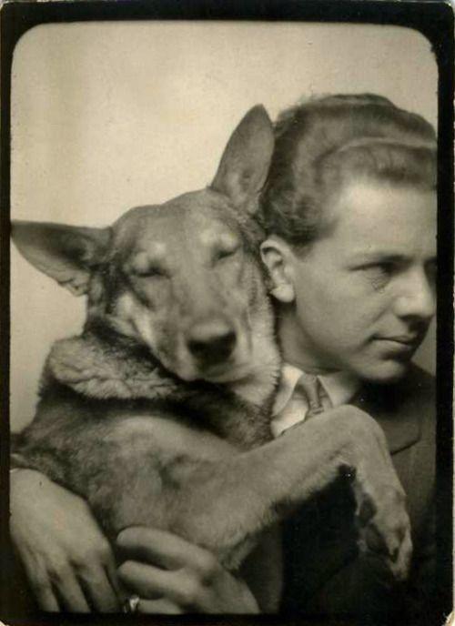 Photobooth Dog, c.1945