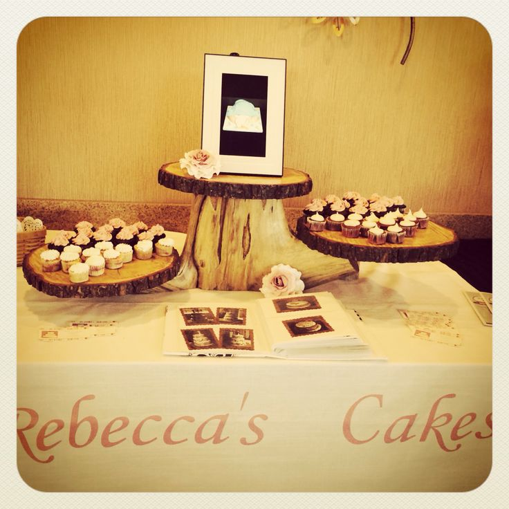 Another of the wonderful displays done by Rebecca's cakes!