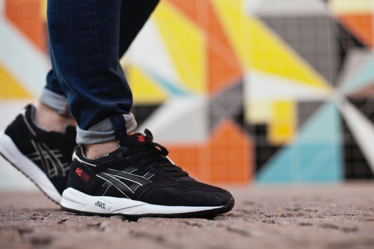 Asics Gel Saga Black Teknodrom Robotic & Automation