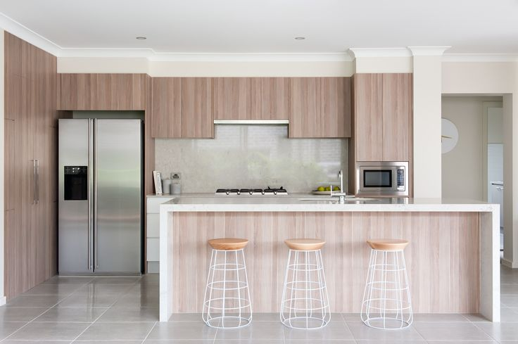 Kitchen - Novara 245 with Aspire Facade on display at Greenway Estate, Colebee
