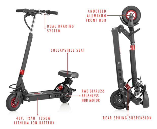 Eon Scooter - The Most Powerful Electric Scooter   Indiegogo