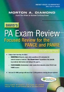 Davis's PA Exam Review: Focused Review for the PANCE and PANRE: Morton A. Diamond MD FACP FACC FAHA: 9780803629516: Amazon.com: Books
