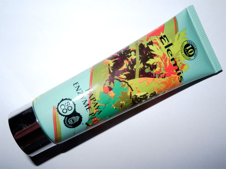 Elemis Papaya Enzyme Peel Review and Photos from @makeup4all