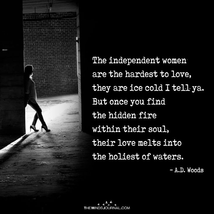 The Independent Women  are The Hardest To Love - https://themindsjournal.com/independent-women-hardest-love/