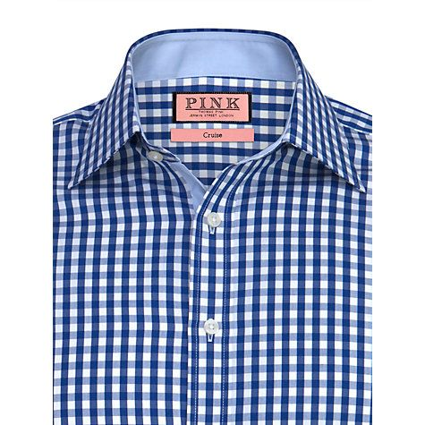 Buy Thomas Pink Dobson Check Shirt Online at johnlewis.com
