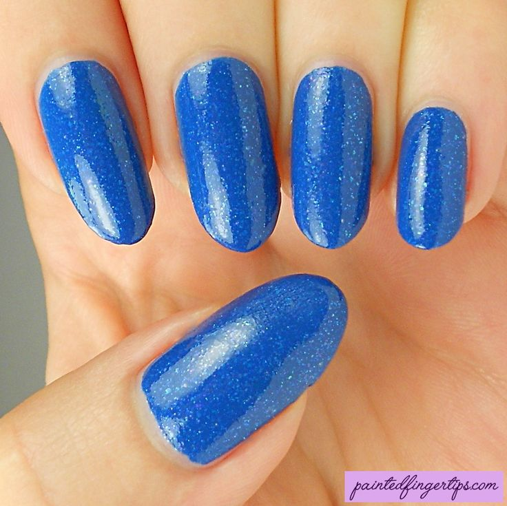 Painted Fingertips | Swatch - Blue-Eyed Girl Lacquer Chasing the Skyline