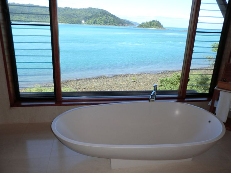 Bathroom with the view