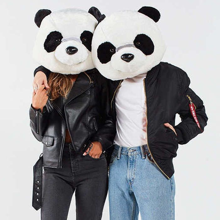 Rank & Style - Urban Outfitters Giant Panda Head #rankandstyle