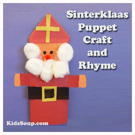 Dutch children in Holland, or the Netherlands, anxiously look forward to St. Nicholas Day on December 6. They eagerly await the arrival of Sinterklaas. Sinterklaas is a kindly bishop. He wears red robes and a tall, pointed mitre on his head.