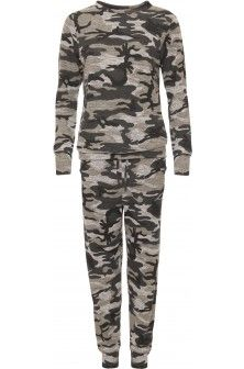 Becy Camouflage Jogging Suit