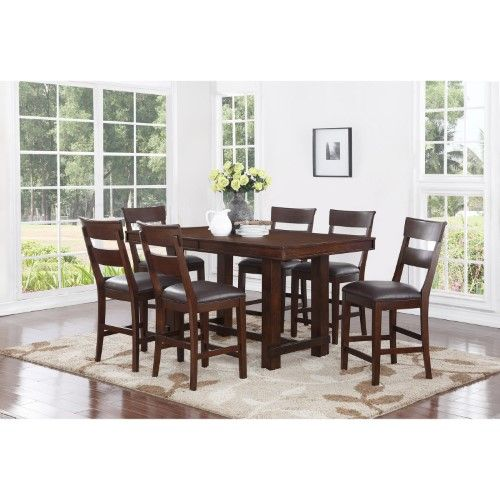 Craft And Main Alden 7 Piece Counter Height Dining Table
