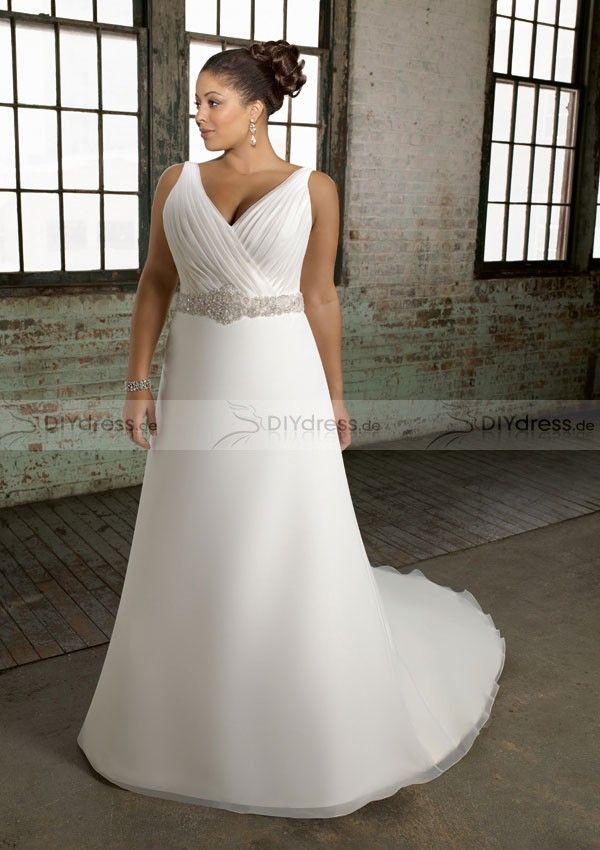 21 best Plus Size Wedding Dresses& Hochzeitskleid images on ...