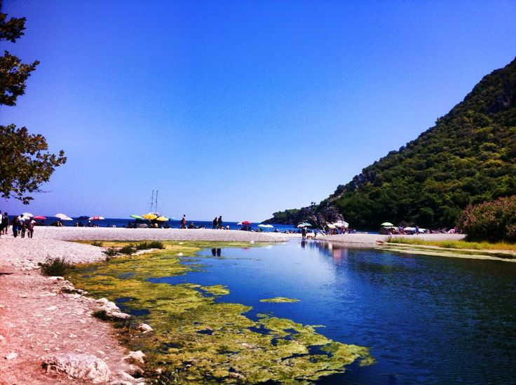 Olympos, beach intertwined with history