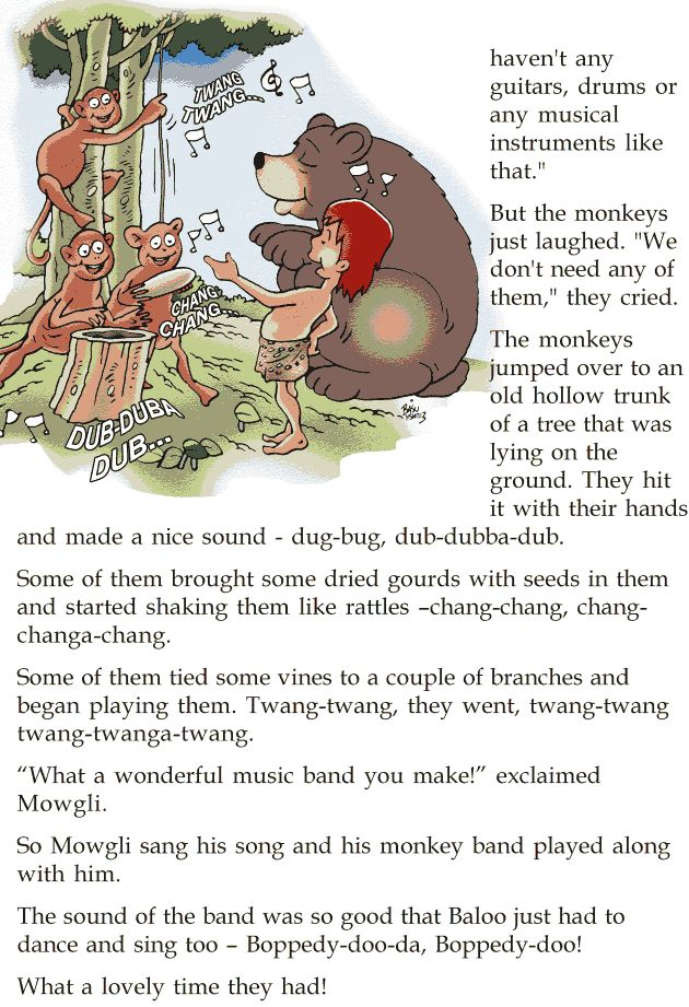 Grade 2 Reading Lesson 22 Short Stories - The Monkey Orchestra (1 ...