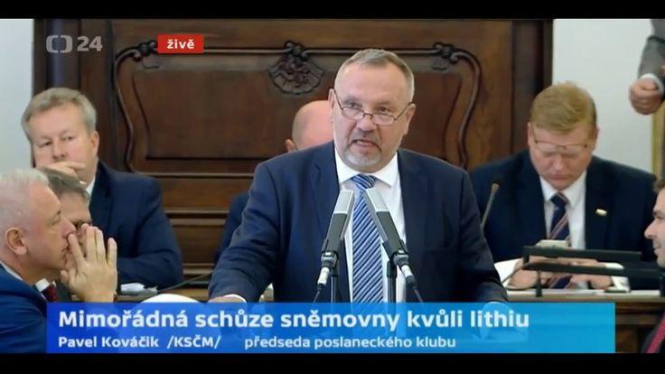 Mimořádná schůze sněmovny kvůli lithiu / I.část asistované sebevraždy ČSSD