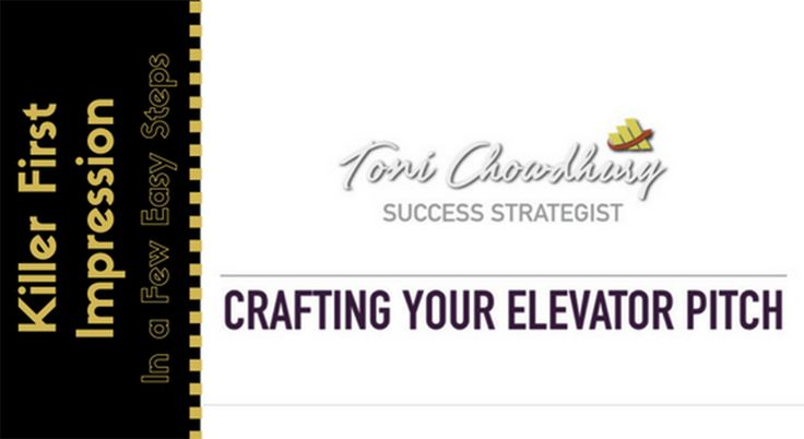 An Elevator Pitch – What Is It?