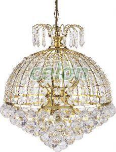 Csillár d41cm arany/akril Isabella 8628 Rábalux, Világítástechnika, Beltéri dekor világítás, Csillárok, Rabalux