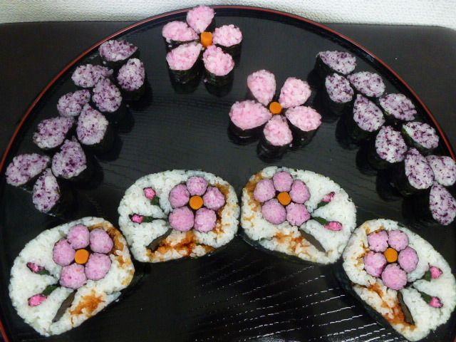 Sakura sushi roll