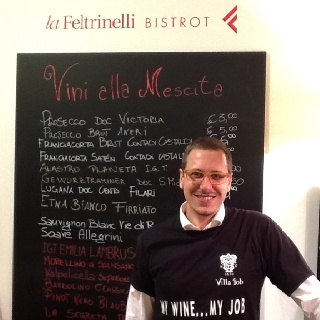 Wine producer Villa Job #lafeltrinelli  #vinitaly2012 @villajob