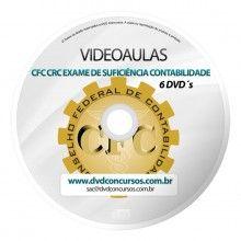 VIDEOAULAS CFC CRC EXAME DE SUFICIENCIA CONTABILIDADE 2014 6 DVDS