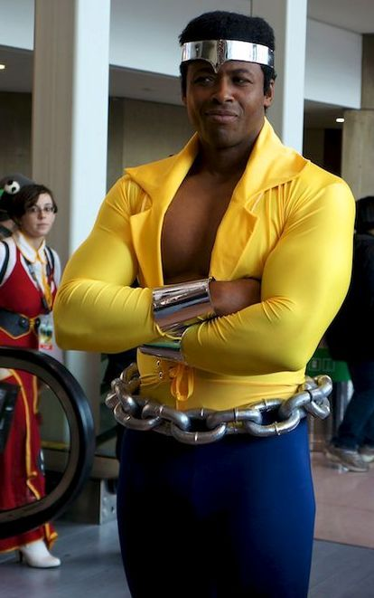 Luke Cage! I am not a LC fan, but this is.... well great.