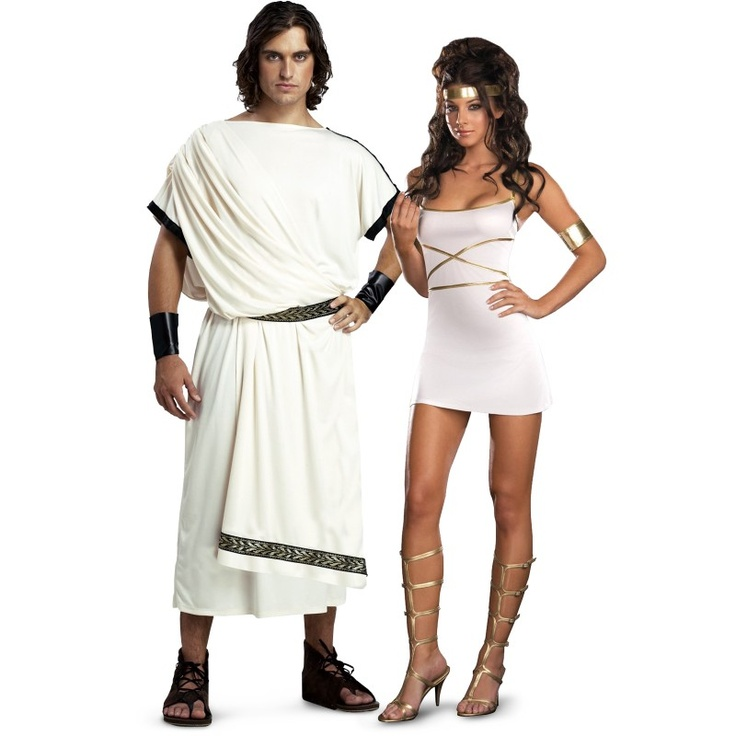 Toga Party Costumes from BuyCostumes.com #Toga #Costume #CoupleCostume #Sexy