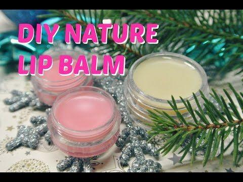 DIY přírodní balzám na rty / homemade lip balm - YouTube