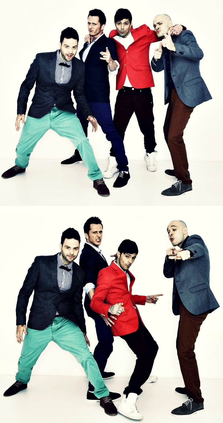 5ive (Scott, Ritchie, Abz, & Sean)--I'm so excited they are back together! !!