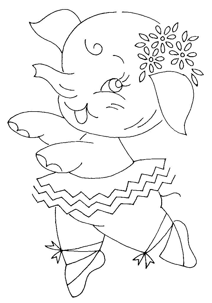 49 Best Elephant Embroidery Patterns Images On Pinterest