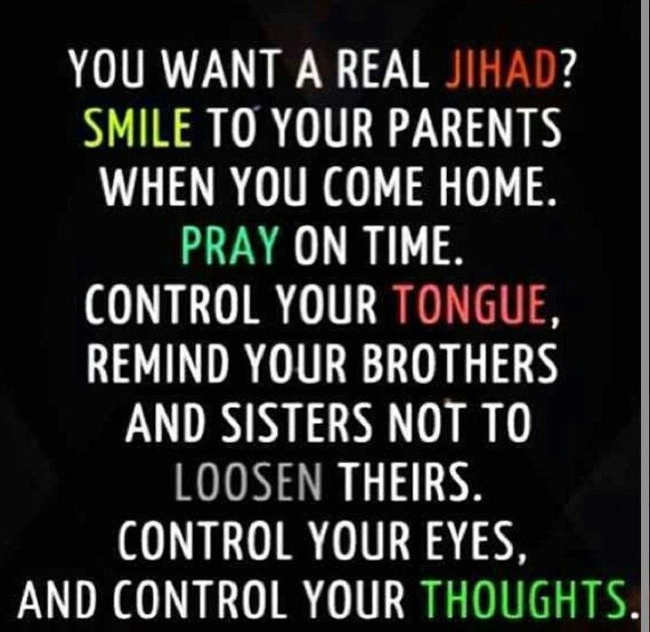 Want a real Jihad?!