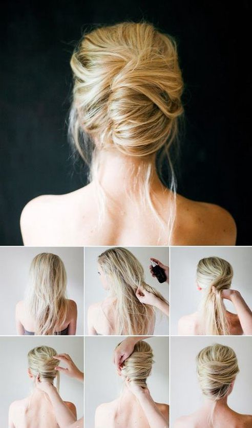 hairstyle for long hair updo