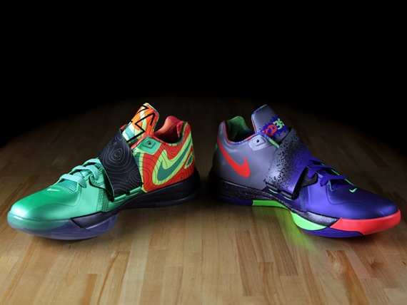 outlet store 7297e f575f ... The two Nike Zoom KD IV releases were among the most popular releases  of the entire ...