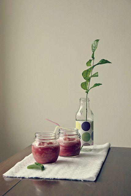Watermelon & Coconut Water Slushie #GROWmethod #recipe