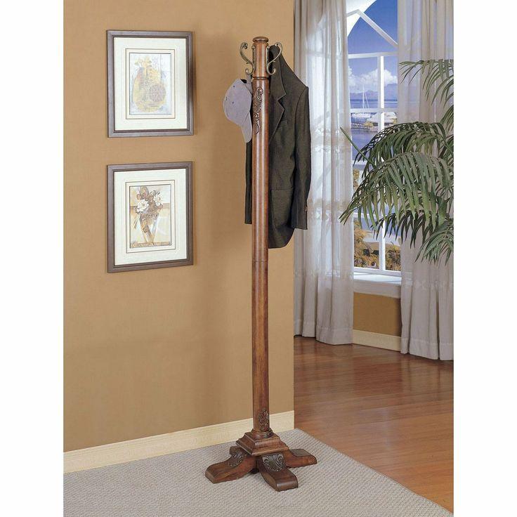 coat rack office. FurnitureMaxx.com Solid Wood Coat Rack Hall Tree : \u0026 Trees Office E