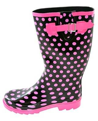 Best Buy Polka Dot and Spotted Wellies for Women – 2016 Fashion Guide | Jileon – Short and Sexy in Pink | These stylish & Funky spotted wellies for ladies are incredibly comfortable, with a soft lining that really adds both to this and also the general warmth of the boot...| #wellies  #bellies #fellies  #jellies #kellies  #nellies   #wellies #UK #waterproof # sea #fishing #wonderfulwellies #snow #ice #farmer #women | www.wonderfulwellies.co.uk