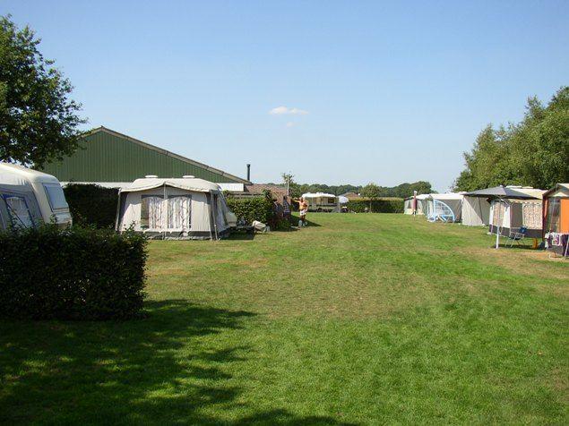 minicamping De Schellehoeve Alphen Boerenbaan 11 5131PA  Alphen  Noord-Brabant mei  2005