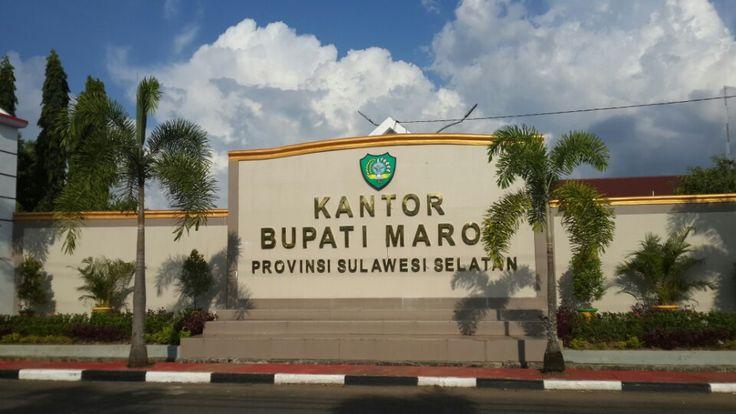 Kantor Bupati Maros di Maros, Sulawesi Selatan
