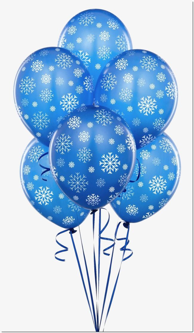 Blue Balloon Balloon Clipart Balloon Pattern Winter Png Transparent Clipart Image And Psd File For Free Download Balloons Blue Balloons Balloon Decorations