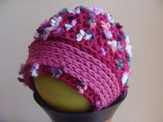 Toddler Girl Hat, Pink Hat, Baby Girl Hat, Baby Girl Gift, Toddler Girl Clothes, Flower Hat, Winter Hat Trendy, Beanie Crochet