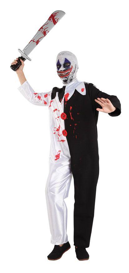 DisfracesMimo, disfraz de payaso asesino nino para halloween varias tallas.Con este colorido disfraz original y diverdito en tus fiestas de disfraces o carnaval o despedidas de soltero.Este disfraz es ideal para tus fiestas temáticas de disfraces de miedo y payasos para niño infantil