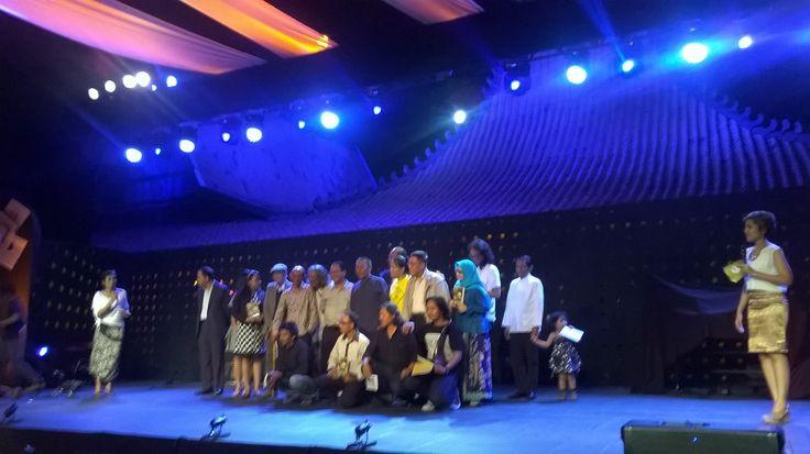 : Malam Penganugerahan Cerpen Kompas 2014 di Bentara Budaya Jakarta, Rabu (10/6/15).