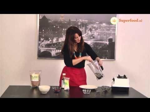 Superfood Chocolade Koekjes met Goji bessen en Kokos