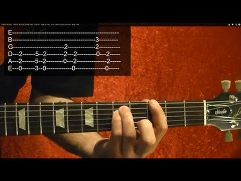 EASY! AC/DC - DIRTY DEEDS DONE DIRT CHEAP - How to Play - Free Online Gu...